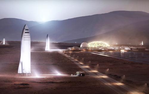 Как SpaceX заработает на новой «холодной войне» Марсианский обман