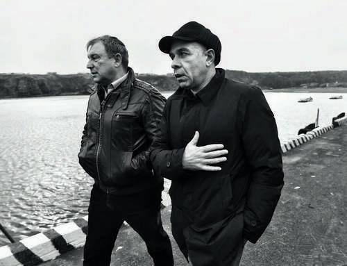 Александр Верховский (справа) и генеральный директор «Гидростроя» Юрий Светликов.