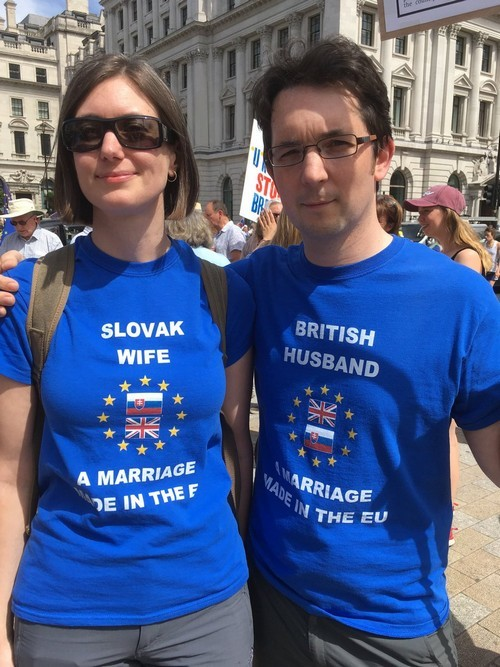Anti-Brexit protest: thousands march two years after referendum