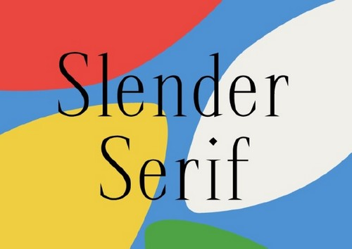 10 Fresh Font Styles for You to Use in Your Designs — Slender Serif