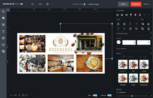 5 Tips for Making Photo Collages in Shutterstock Editor — Using Background Images