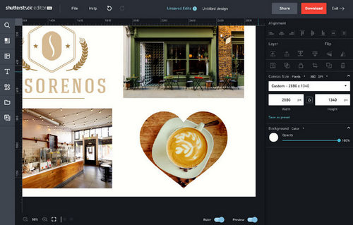 5 Tips for Making Photo Collages in Shutterstock Editor — Shape Cropping