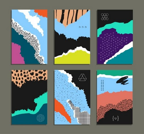 Top 10 Print Design Styles to Know About for 2019 — Abstract and Painterly Backgrounds