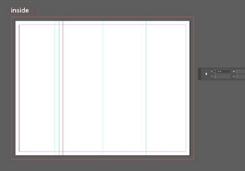 A Beginner's Guide to Creating Gate Fold Flyers in Adobe InDesign — Inner Margins