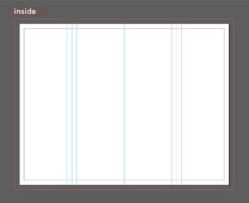 A Beginner's Guide to Creating Gate Fold Flyers in Adobe InDesign — Margins Around Inner Folds