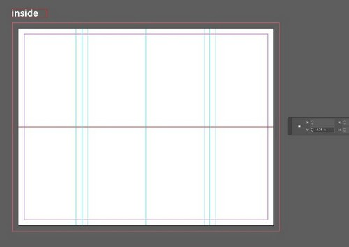 A Beginner's Guide to Creating Gate Fold Flyers in Adobe InDesign — Center Guide