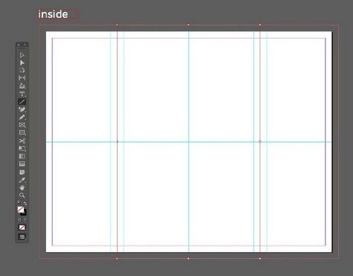 A Beginner's Guide to Creating Gate Fold Flyers in Adobe InDesign — Line Tool