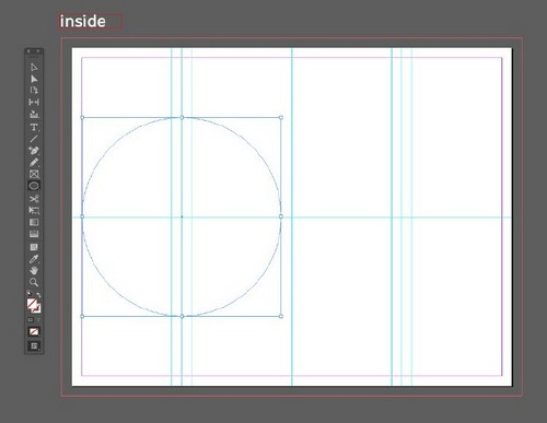 A Beginner's Guide to Creating Gate Fold Flyers in Adobe InDesign — Ellipse Tool
