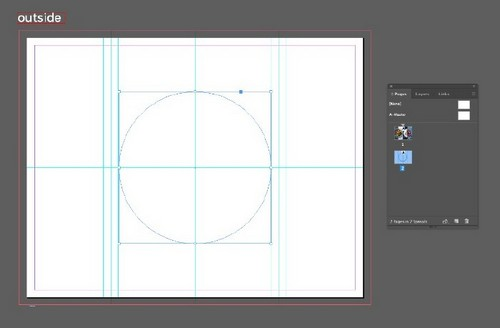 A Beginner's Guide to Creating Gate Fold Flyers in Adobe InDesign — Center Circle