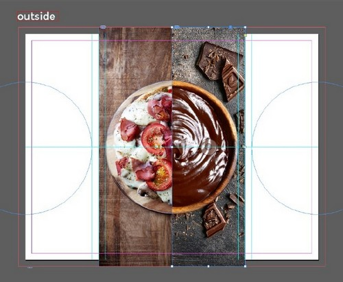 A Beginner's Guide to Creating Gate Fold Flyers in Adobe InDesign — Center Placement