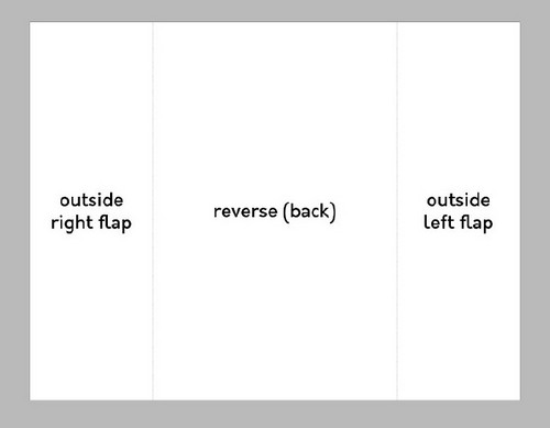 A Beginner's Guide to Creating Gate Fold Flyers in Adobe InDesign — Page Two