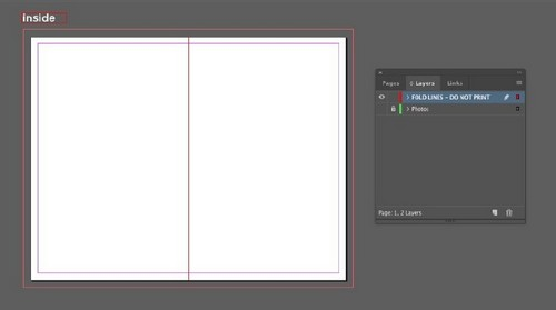 A Beginner's Guide to Creating Gate Fold Flyers in Adobe InDesign — Show Rulers