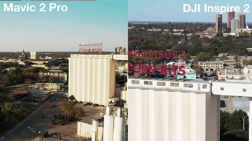 Drone Comparison: DJI Mavic 2 Pro vs. DJI Inspire 2 — Shot Quality