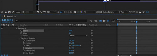 How to Create Anime-Style Speed Lines in After Effects — Creating Multiple Lines