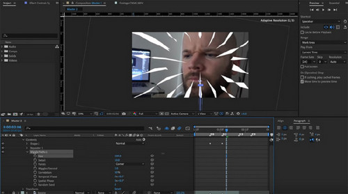 How to Create Anime-Style Speed Lines in After Effects — Animate the Lines