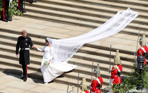 Prince Harry and Meghan Markle: The Year in Review — Wedding Day