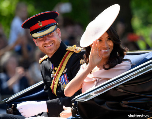 Prince Harry and Meghan Markle: The Year in Review — Trooping the Colour