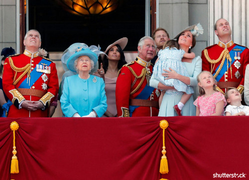 Prince Harry and Meghan Markle: The Year in Review — Trooping the Colour Royal Family