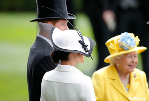 Prince Harry and Meghan Markle: The Year in Review — Royal Ascot Queen