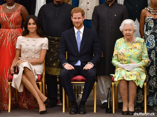Prince Harry and Meghan Markle: The Year in Review - Queens' Young Leaders Awards Ceremony