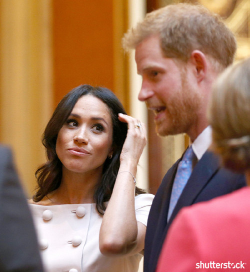 Prince Harry and Meghan Markle: The Year in Review — Meghan at Queen's Young Leaders