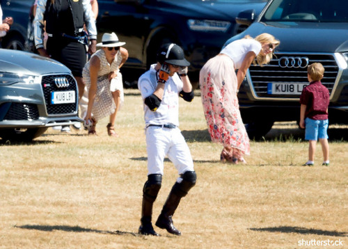 Prince Harry and Meghan Markle: The Year in Review — Tusk Audio Polo Challenge