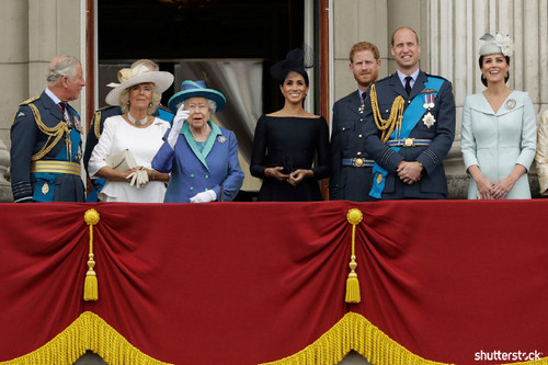 Prince Harry and Meghan Markle: The Year in Review — Royal Family Air Force Anniversary