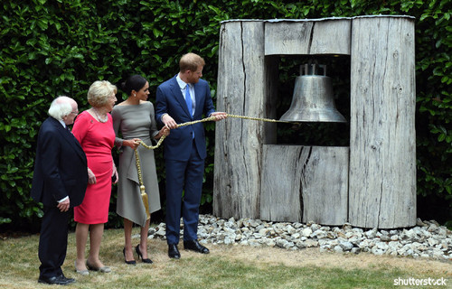 Prince Harry and Meghan Markle: The Year in Review — Ringing Irish Bell