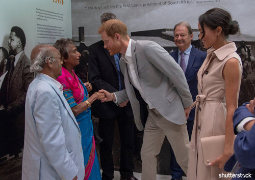Prince Harry and Meghan Markle: The Year in Review — Nelson Mandela Centenary Launch