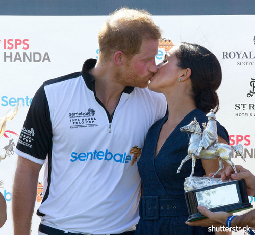 Prince Harry and Meghan Markle: The Year in Review — Polo Benefit Kiss