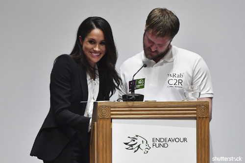 Prince Harry and Meghan Markle: The Year in Review — Meghan at Endeavor Funds Awards