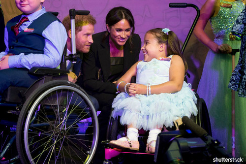 Prince Harry and Meghan Markle: The Year in Review — At the Wellchild Awards