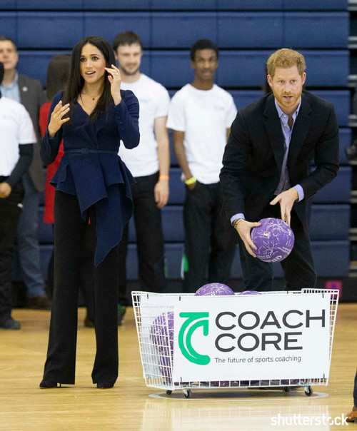 Prince Harry and Meghan Markle: The Year in Review — Coach Core