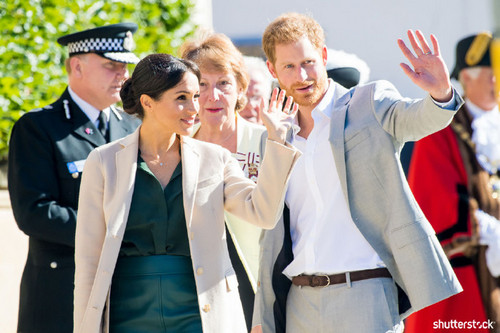 Prince Harry and Meghan Markle: The Year in Review — Sussex Visit