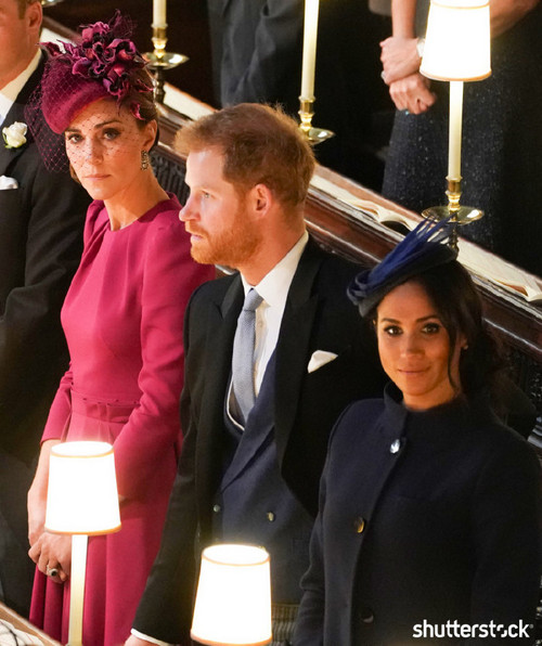 Prince Harry and Meghan Markle: The Year in Review — Attending Princess Eugenie's Wedding