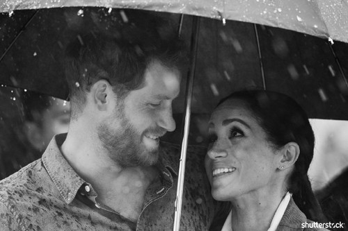 Prince Harry and Meghan Markle: The Year in Review — In the Rain