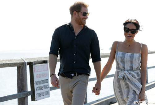Prince Harry and Meghan Markle: The Year in Review — Holding Hands In Australia