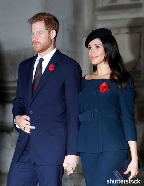 Prince Harry and Meghan Markle: The Year in Review — WWI Centennial