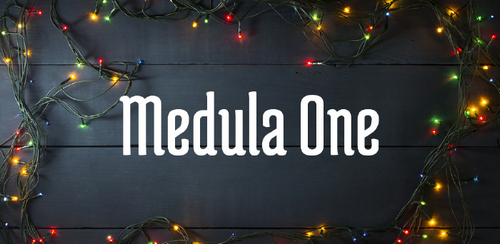 Free font for Christmas - Medula One font