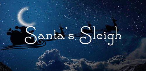 Free font for Christmas - Santa's Sleigh font
