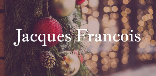 Free font for Christmas - Jacques Francois font