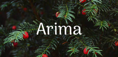 Free font for Christmas - Arima font