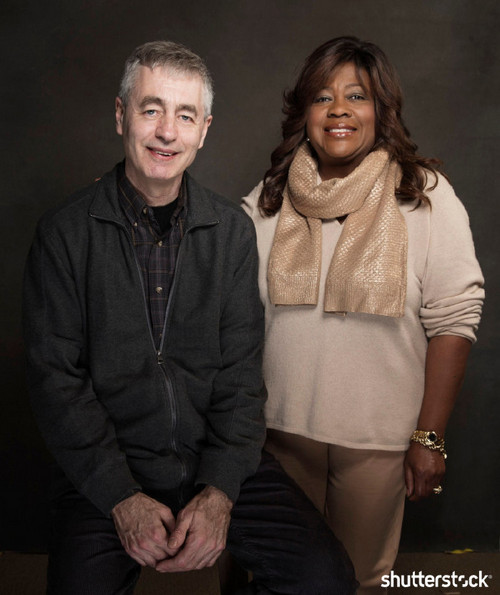 15 Priceless Photos from the Sundance Film Festival — Steve James and Chaz Ebert