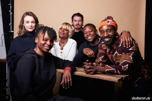 15 Priceless Photos from the Sundance Film Festival — Carey Mulligan, Dee Rees, Mary J Blige, Garrett Hedlund, Jason Mitchell, and Rob Morgan