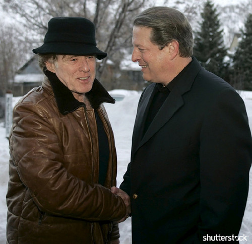 15 Priceless Photos from the Sundance Film Festival — Al Gore and Robert Redford