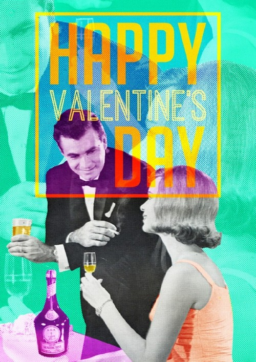 20 Trendy Valentine's Day Design Ideas to Inspire You — Retro Collage