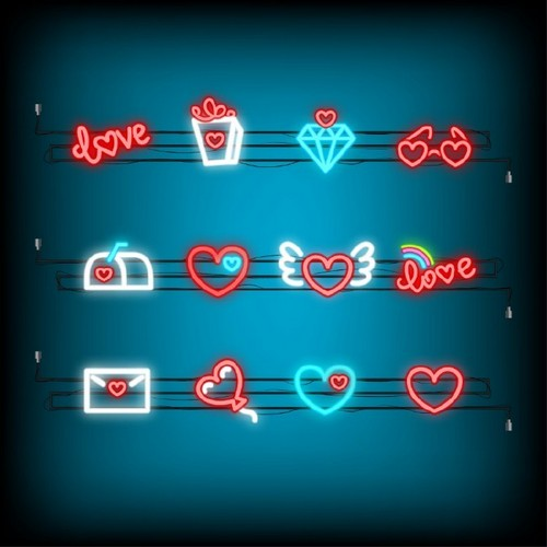 20 Trendy Valentine's Day Design Ideas to Inspire You — Neon Icons