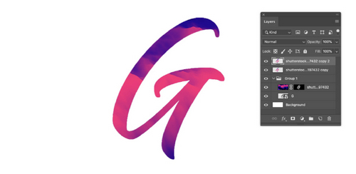 Get a Paint Text Effect with the Liquify Tool in Photoshop — Liquify