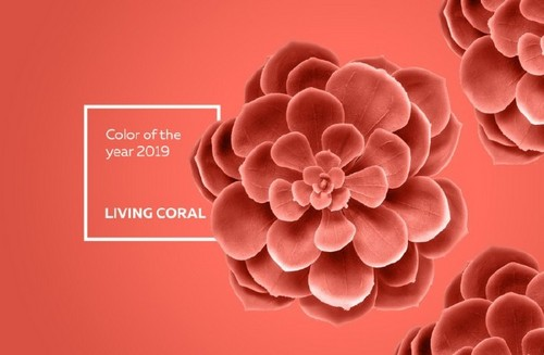 How to Use Living Coral, Pantone's Color of the Year, in Your Designs — Nature Theme