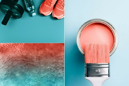 How to Use Living Coral, Pantone's Color of the Year, in Your Designs — Team with Blue